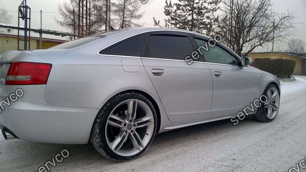 Set Bandouri Ornamente Praguri Spoiler Audi A6 C6 4f S6 Rs6 S Line Sline S Line 2004 2005 2006