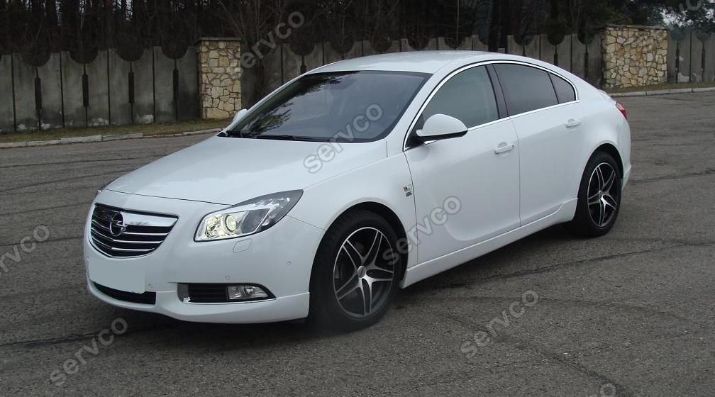 prelungire spoiler tuning sport bara fata opel insignia. Black Bedroom Furniture Sets. Home Design Ideas