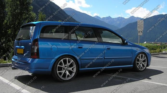 eleron tuning sport spoiler opel astra g caravan opc 1998. Black Bedroom Furniture Sets. Home Design Ideas