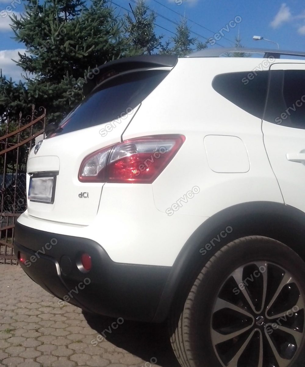 Eleron spoiler tuning sport Nissan Qashqai J10 2007-2013 ver1