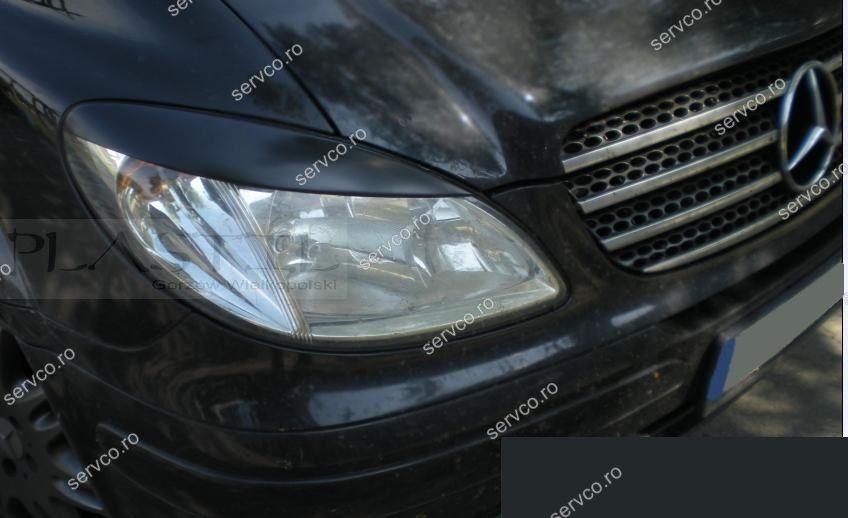 Pleoape faruri Mercedes W639 Vito 2 V Class ABS 2003-2010 ver2
