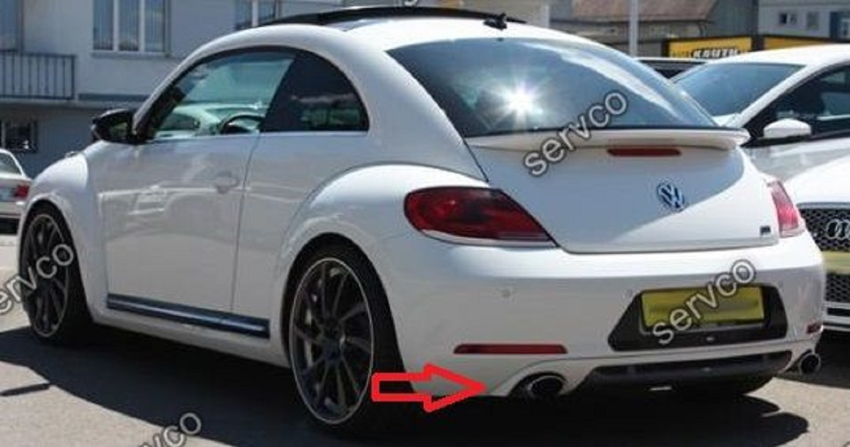Difuzor Bara Spate Evacuare Vw Beetle Abt Ab Look C A Rsi Gt Gti Sport Tuning Dune Xbox R Line R Line Edition Gsr Limited Edition on 2012 Vw Beetle Interior