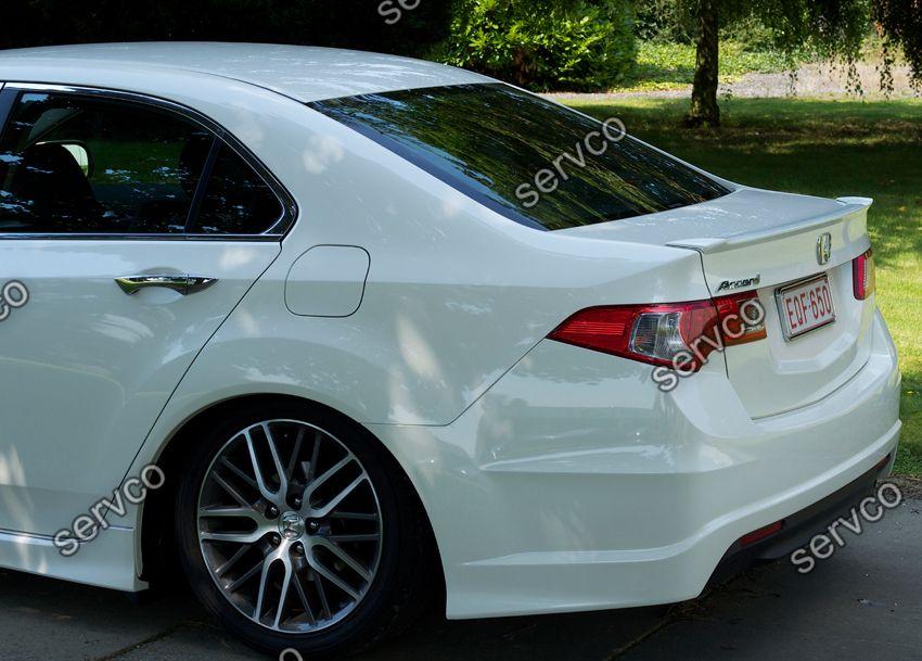 Eleron spoiler tuning sport portbagaj Honda Accord 8 Mk8 2007-2012 ver1