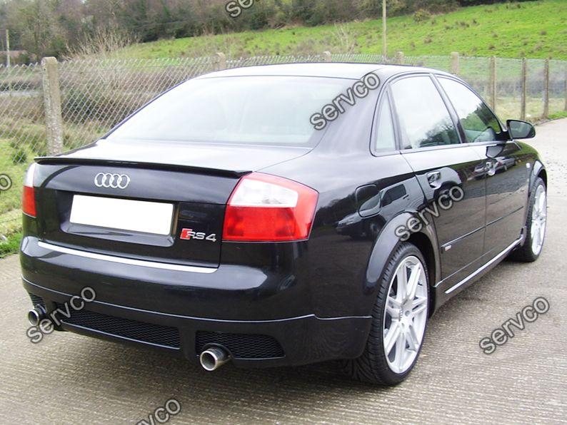 Prelungire Spoiler Tuning Sport Bara Spate Audi A4 B6 8e