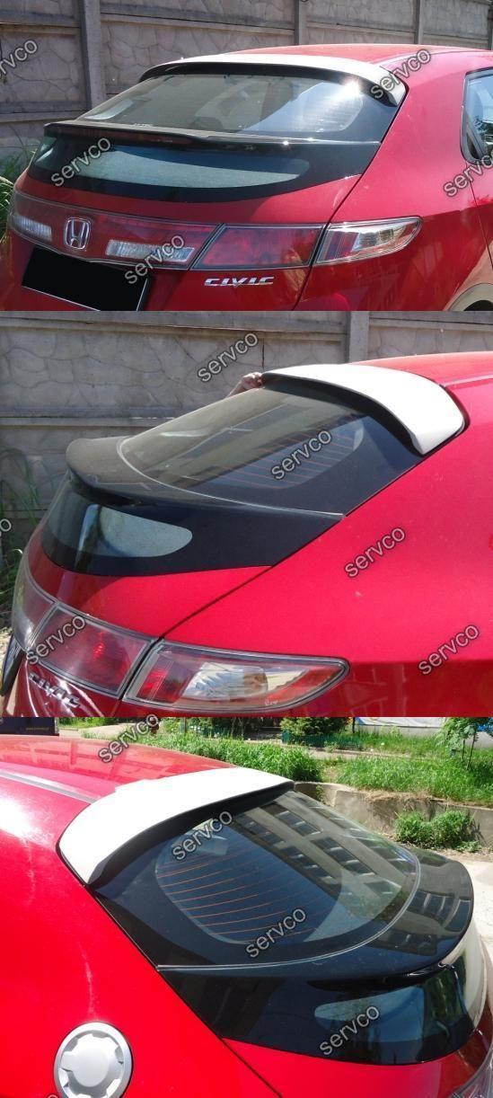 Eleron spoiler tuning sport pleoapa luneta Honda Civic MK8 Type R S UFO 2006-2011 ver2