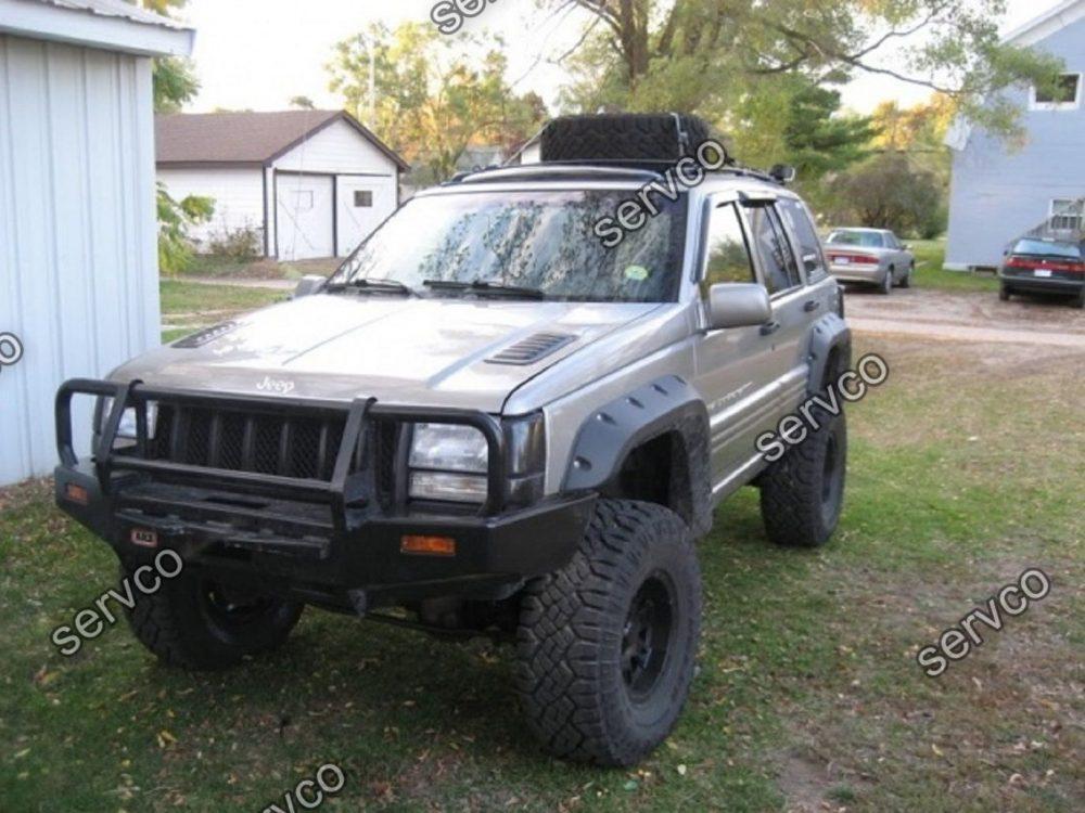 set ornamente wide body evazari aripi aripa overfender wheel arc jeep grand cherokee zj 1993