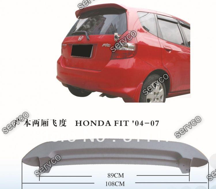 Eleron spoiler tuning sport Honda Jazz Mugen Vti Gti Type R S Mk1 2001-2008 ver1
