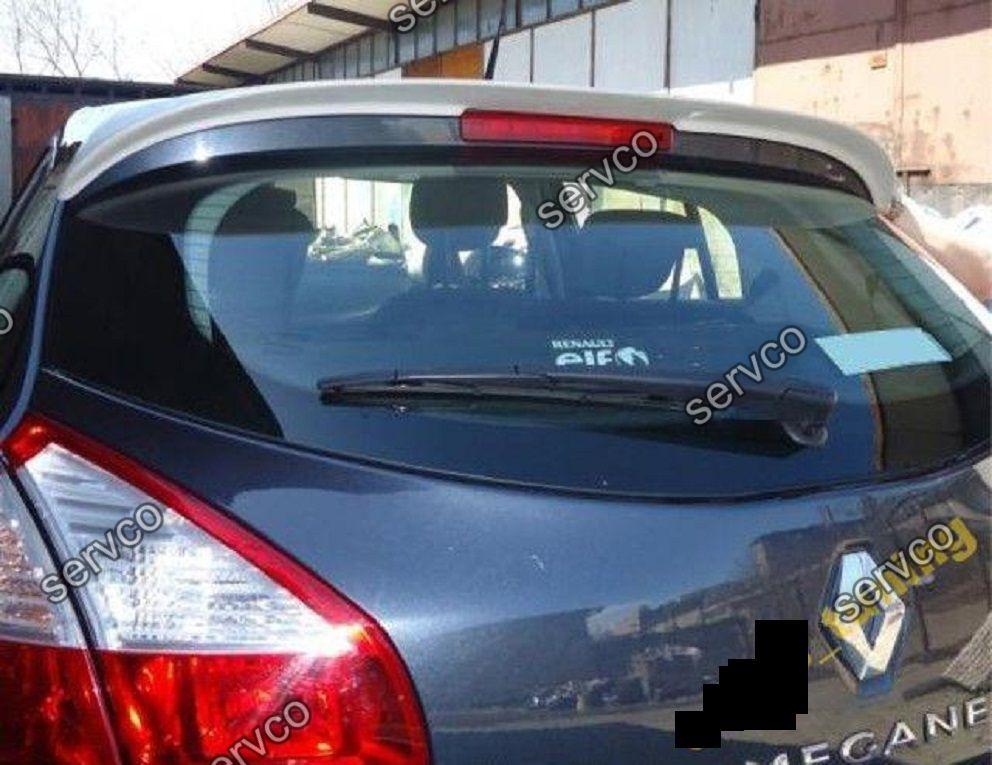 Eleron spoiler tuning sport Renault Megane 3 Mk3 Hatchback ...