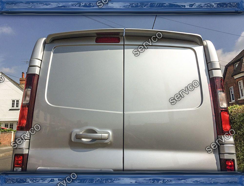 Eleron spoiler tuning sport Opel Vivaro Renault Trafic Nissan Primastar Mk2 X83 2001-2014 ver1