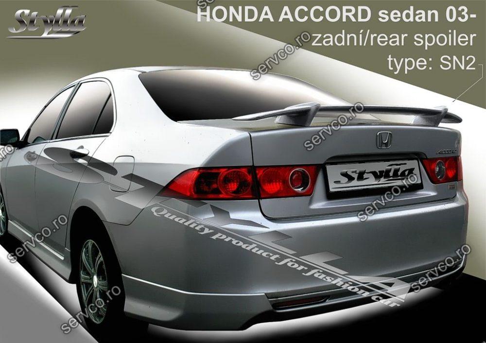 Eleron tuning sport portbagaj Honda Accord MK7 Sedan 2003-2008 v2