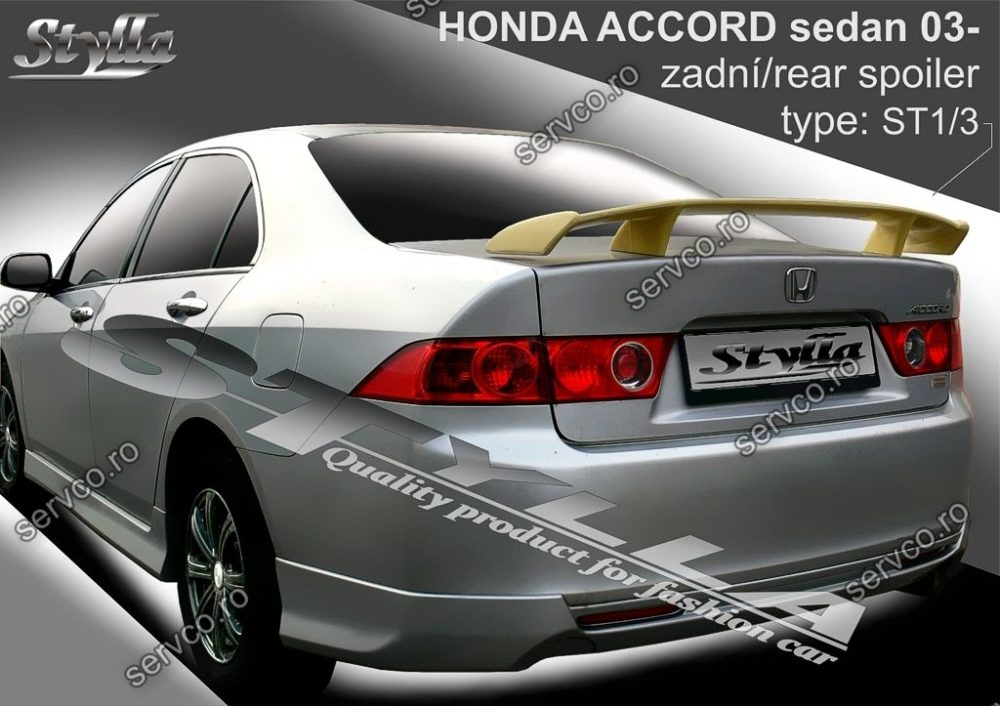 Eleron tuning sport portbagaj Honda Accord MK7 Sedan 2003-2008 v3