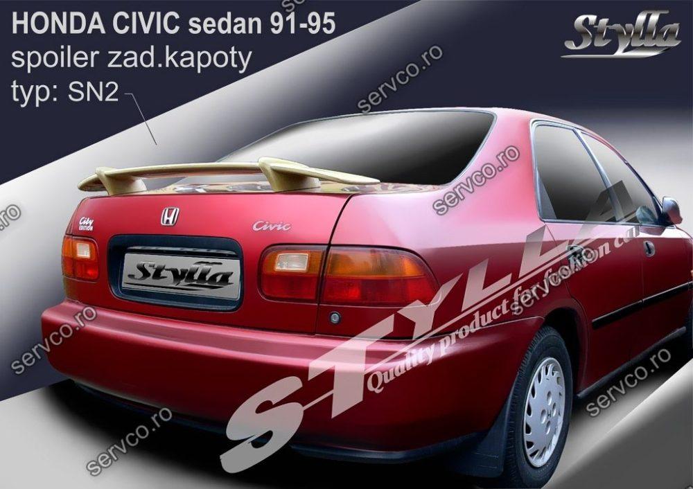 Eleron tuning sport portbagaj Honda Civic MK5 Sedan 1991-1995 v3