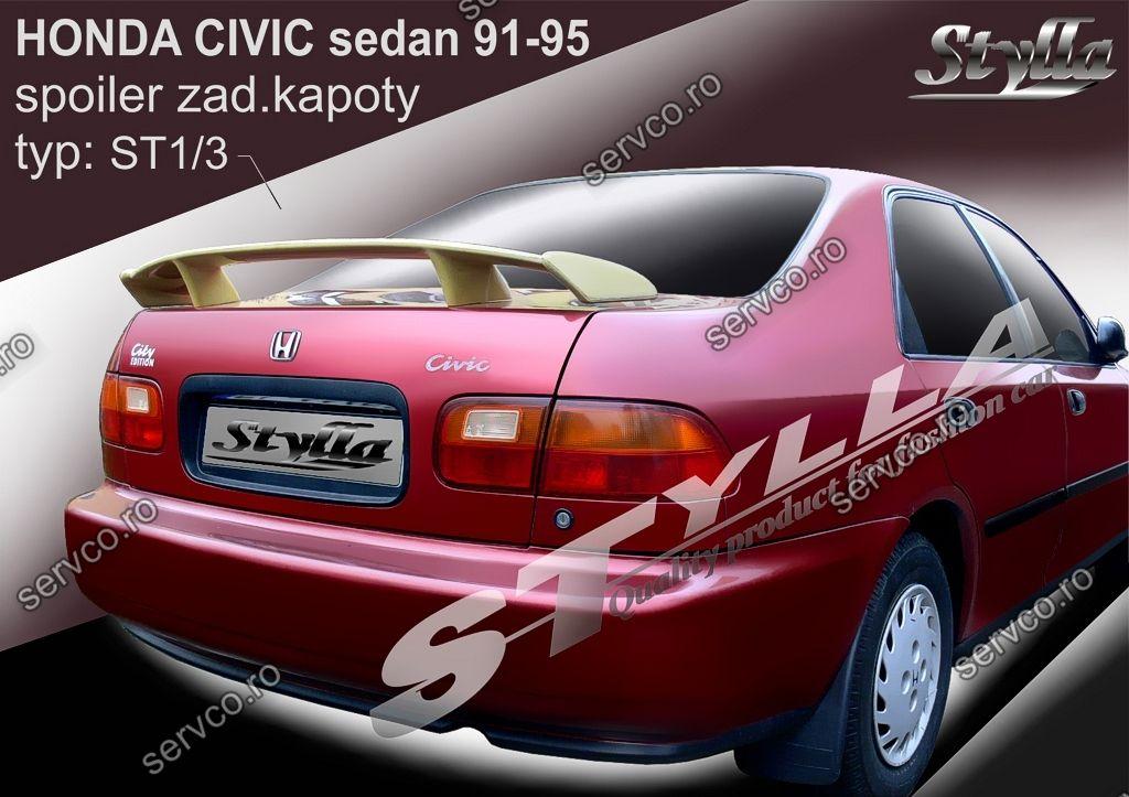 Eleron tuning sport portbagaj Honda Civic MK5 Sedan 1991-1995 v4