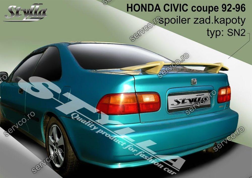 Eleron tuning sport portbagaj Honda Civic Mk5 Coupe 1992-1996 v1