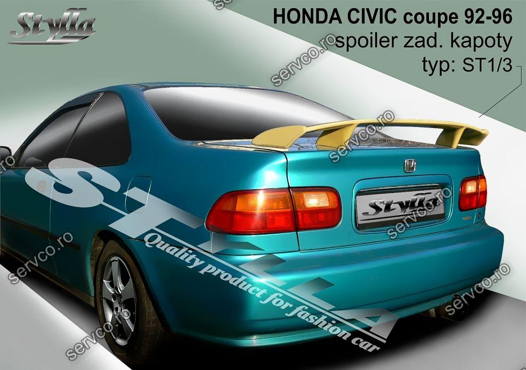 Eleron tuning sport portbagaj Honda Civic Mk5 Coupe 1992-1996 v2