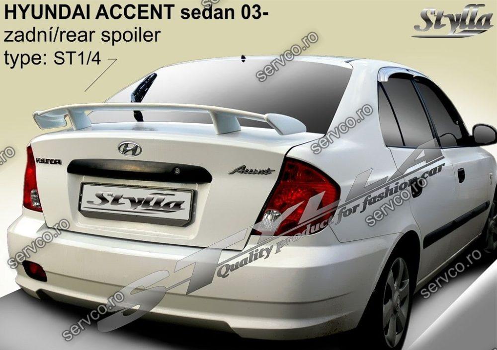 Eleron tuning sport portbagaj Hyundai Accent Sedan 2003-2005 v1