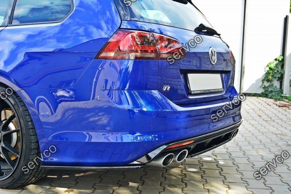 Prelungire ornament bara spate Volkswagen Golf 7 Mk VII Estate 2013-2016 v4