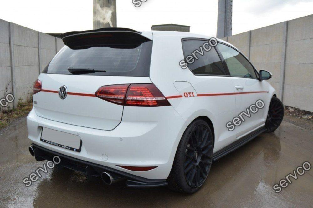 Prelungire ornament bara spate Volkswagen Golf 7 Mk VII GTI 2017-2019 v3