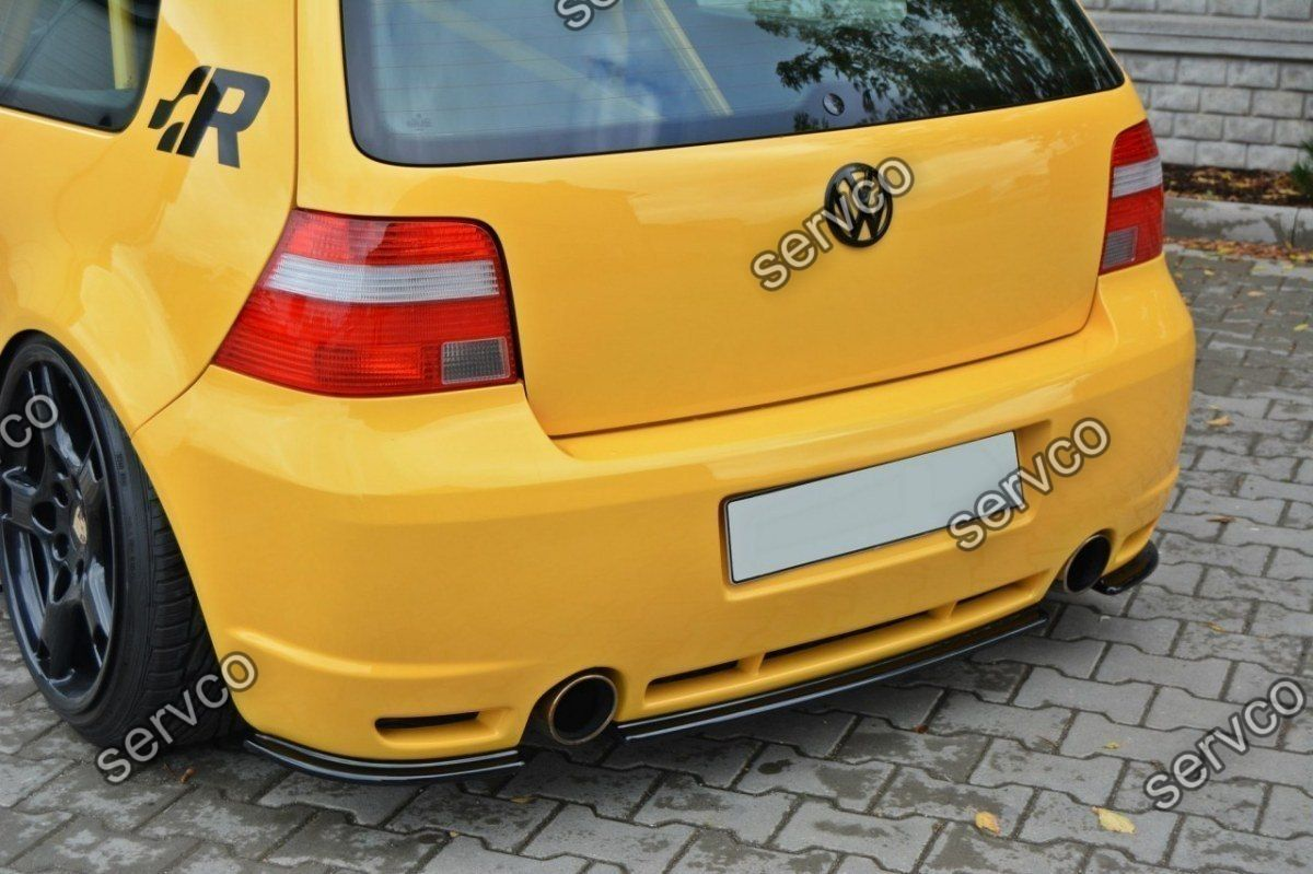 Prelungire splitter tuning bara spate Volkswagen Golf 4 Mk IV R32 2002-2004 v1