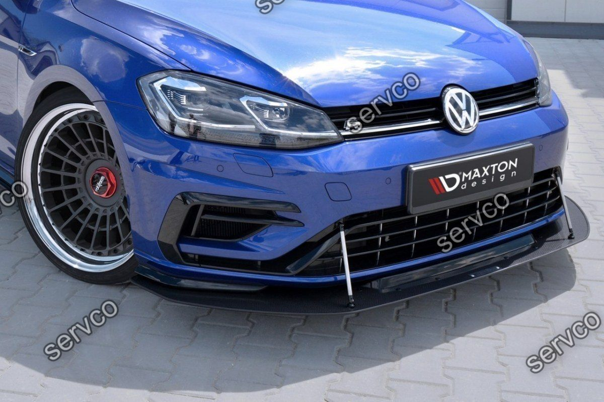 prelungire bara fata volkswagen golf 7 mk vii r facelift. Black Bedroom Furniture Sets. Home Design Ideas
