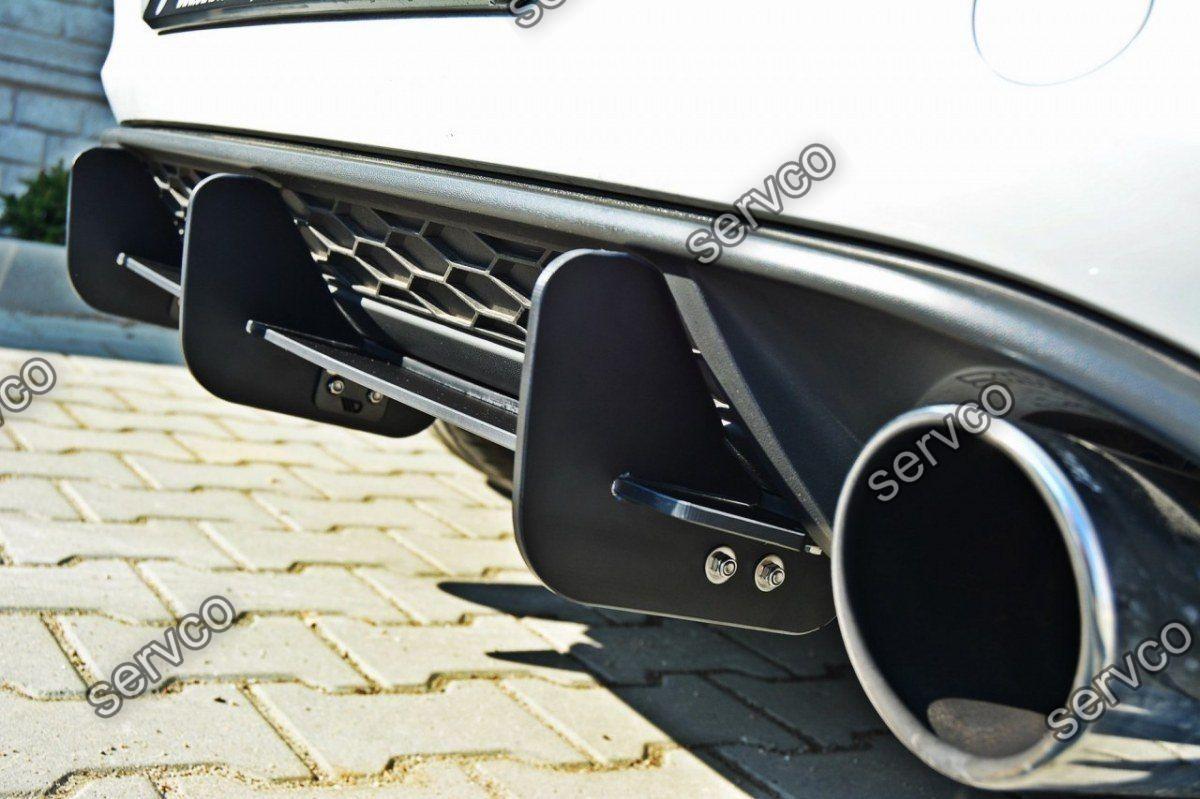 Difuzor spoiler prelungire splitter bara spate Volkswagen Golf 7 Mk VII GTI 2012-2016 v6