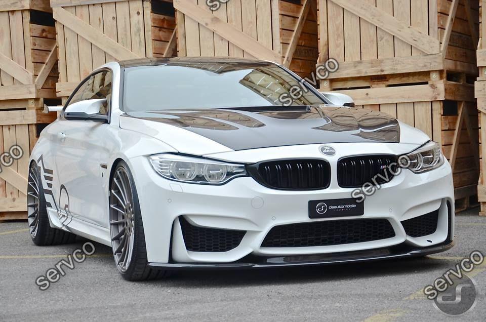 Prelungire tuning sport bara fata BMW M4 doar pt bara M4 2014-2019 v1