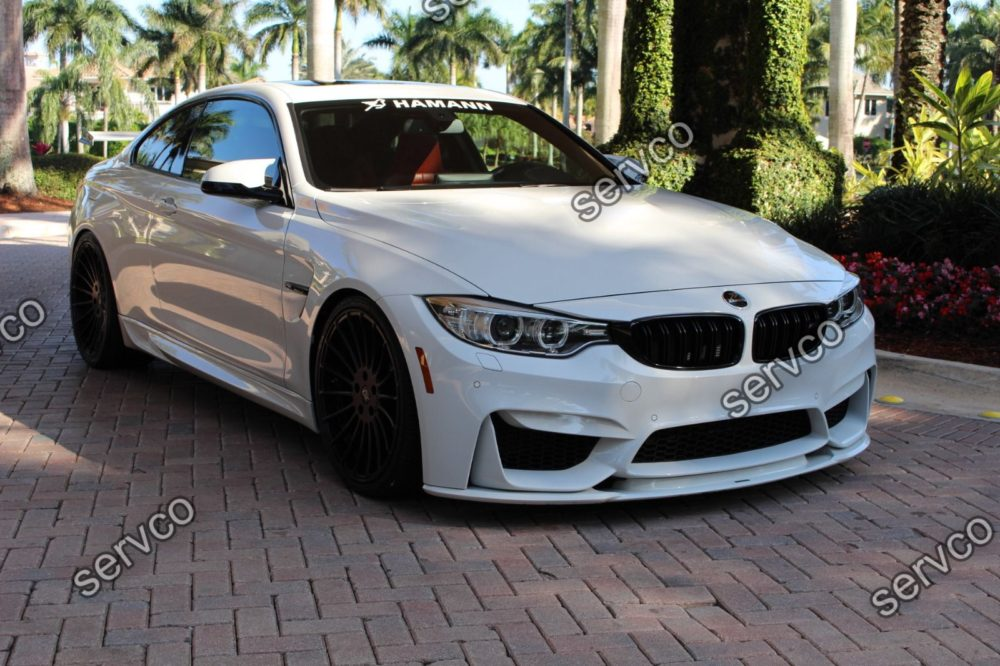 Prelungire tuning sport bara fata BMW M4 F82 F83 GTS CS doar pt bara M4 2014-2019 v1