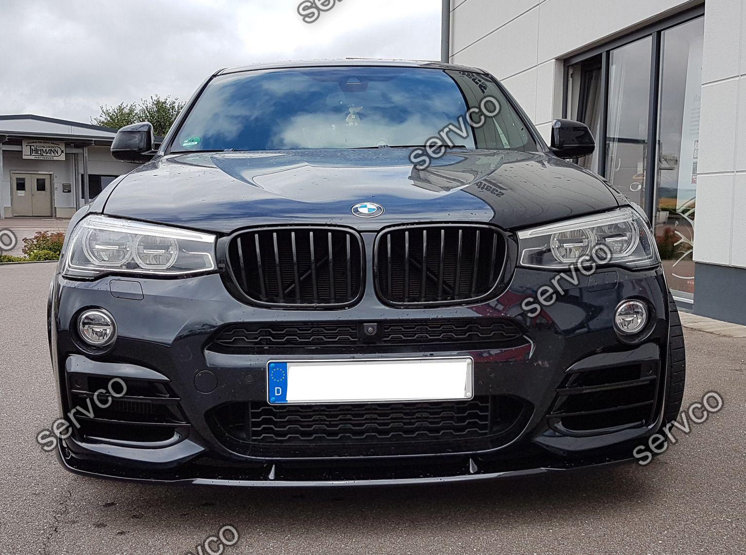Prelungire tuning sport bara fata BMW X4 M doar pt bara fata X4 M 2014-2018 v1