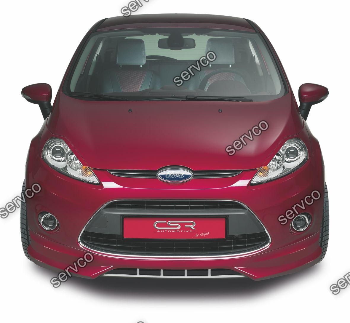 Prelungire spoiler tuning sport bara fata Ford Fiesta MK7 FA054 2008-2017 v1