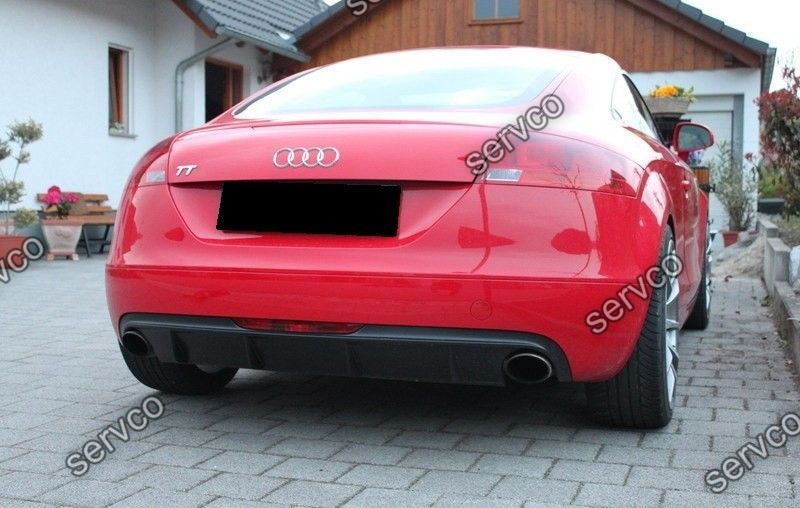 Difuzor bara spate Audi TT 8J ABT Ab look DTM votex TT S RS 3.2 R32 2006-2014 ver1