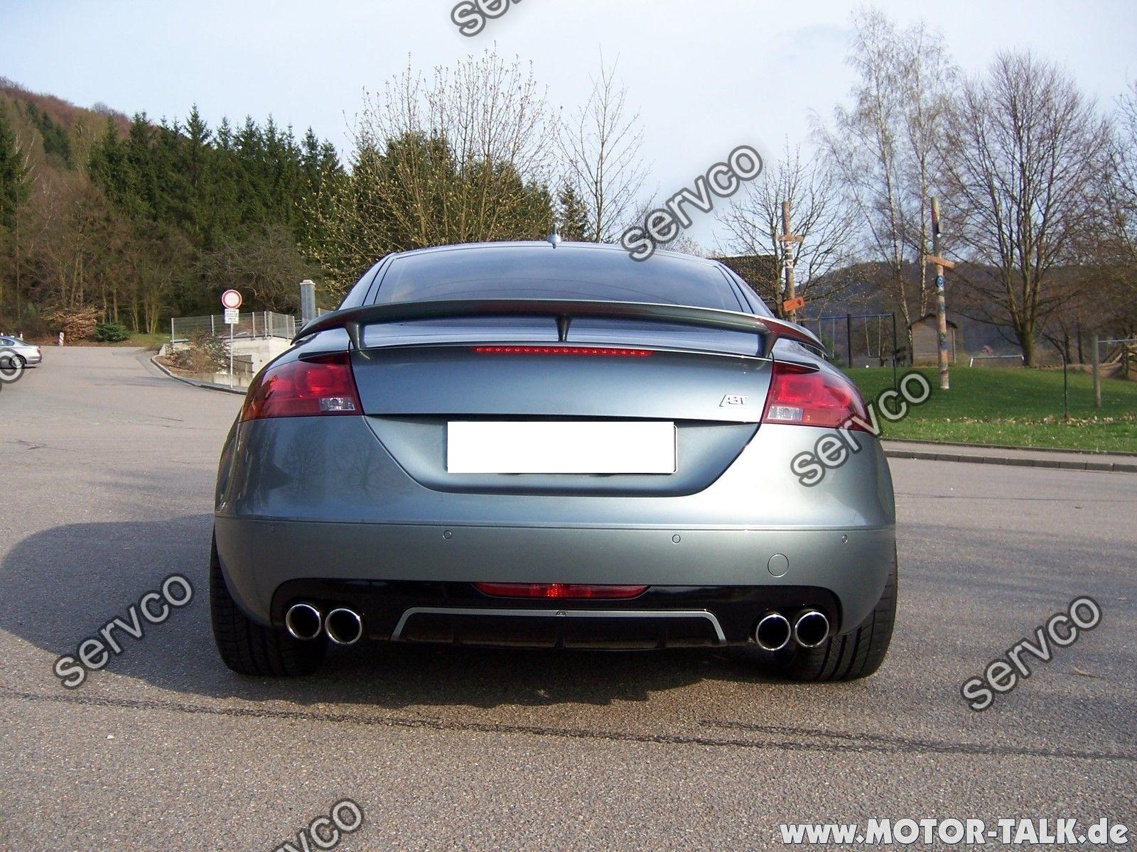 Difuzor bara spate Audi TT 8J Sline S ABT Ab look DTM Votex TT S RS 2006-2014 v2