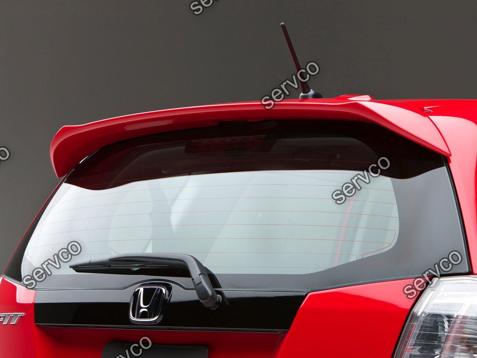 Eleron spoiler tuning sport Honda Jazz Mk2 GE8 Mugen Vti Gti Type R S 2008-2014 v1