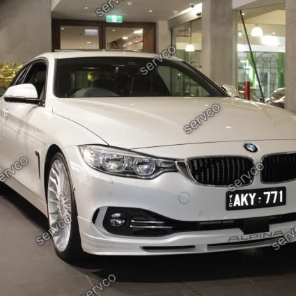 Prelungire difuzor spoiler bara fata lip Alpina  Aero BMW Seria 4 F32 F33 F36 Alpina 2014-2017 ver4
