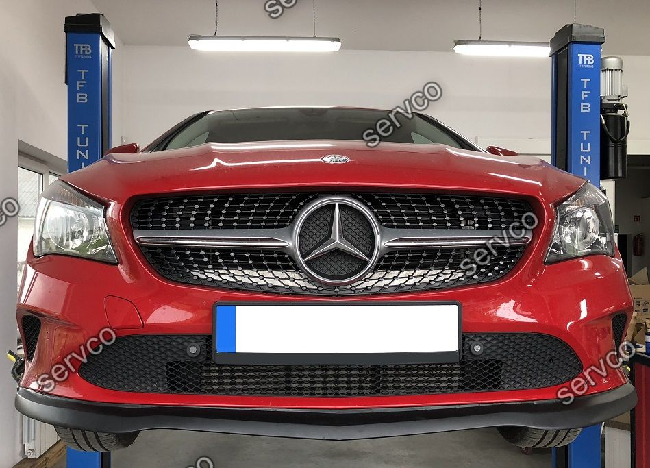 Prelungire tuning sport bara fata Mercedes CLA C117 Facelift AMG tuning sport 2017-2020 ver1