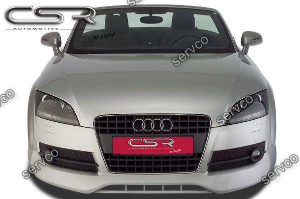 Prelungire spoiler tuning sport bara fata Audi TT 8J Sline TT RS S 2006-2014 ver2