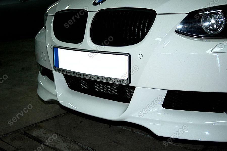 Prelungire tuning sport difuzor fusta extensie lip bara fata BMW E93 Hartge 2006-2012 ver3