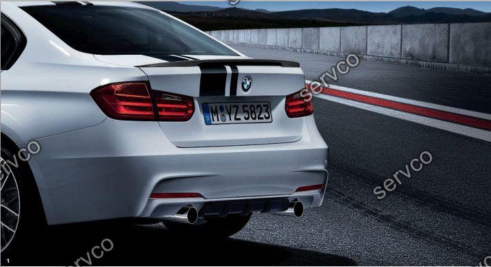 Difuzor spoiler tuning prelungire spoiler bara spate M Pachet BMW F30 F31 F35 Aerodynamic Perfomance 2011-2015 ver4