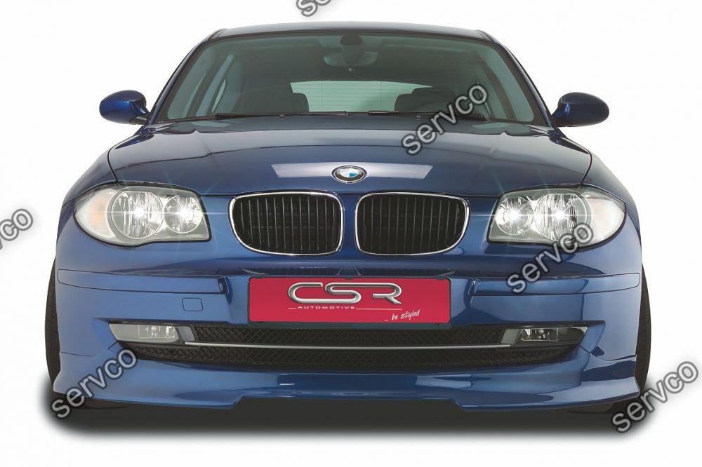Prelungire tuning sport bara fata BMW Seria 1 E81 87 Facelift CSR FA085b 2007-2011 v1
