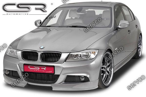 Prelungire tuning sport bara fata BMW Seria 3 E90 E91 CSR FA146 2009-2012 v14