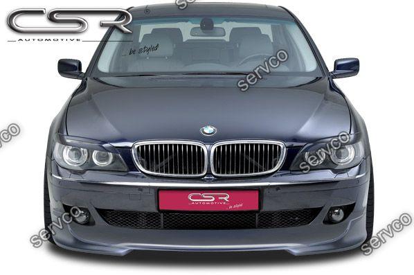 Prelungire tuning sport bara fata BMW Seria 7 E65 E66 LCI CSR FA166 2005-2008 v2
