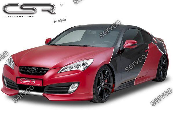 Prelungire tuning sport bara fata Hyundai Genesis MK1 CSR FA183 2009-2012 v1