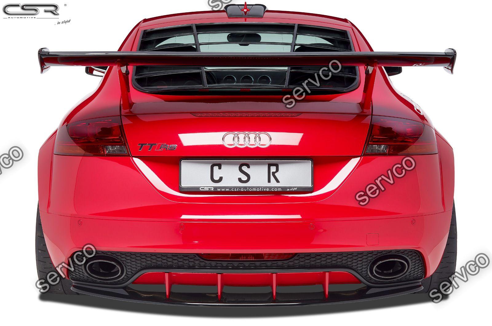 Prelungire difuzor tuning sport bara spate Audi TT RS 8J CSR HA198 2009-2015 v5