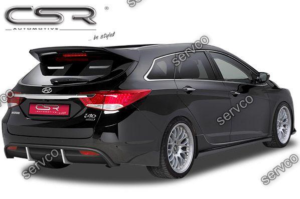 Prelungire difuzor tuning sport bara spate Hyundai I40 CSR HA117 2011-2019 v1