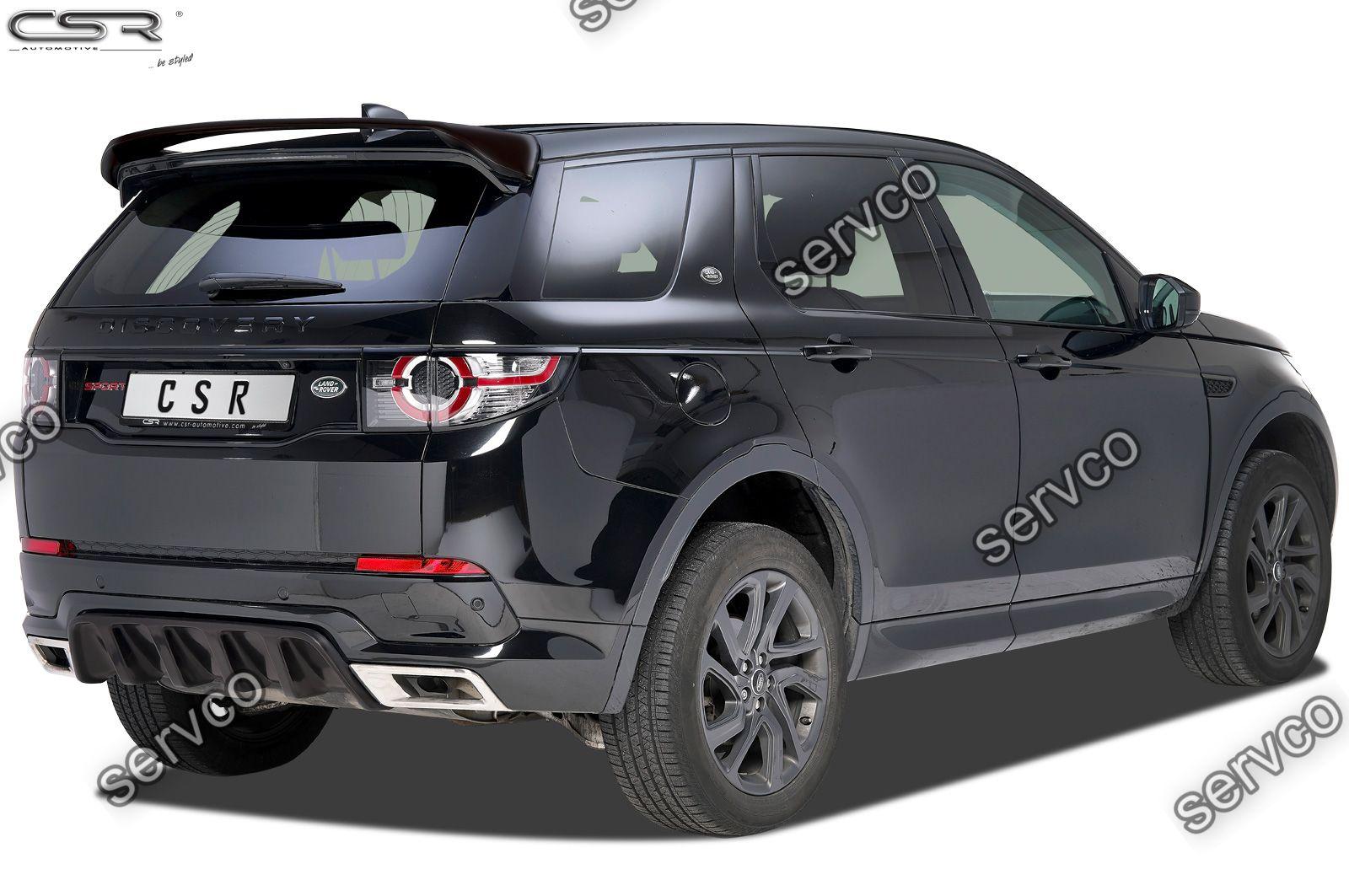 Prelungire difuzor tuning sport bara spate Land Rover Discovery Sport CSR HA203 2015- v1