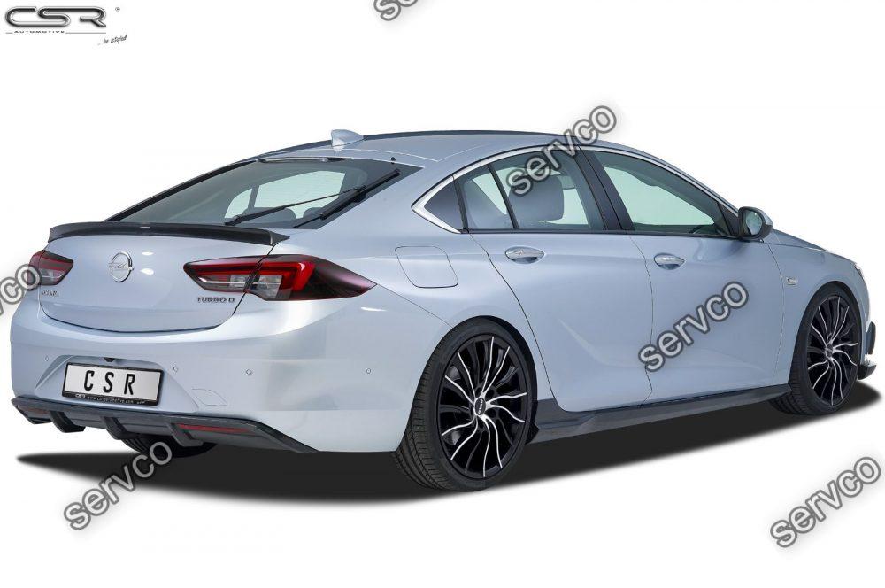 Prelungire difuzor tuning sport bara spate Opel Insignia B Grand Sport CSR HA207 2017- v1