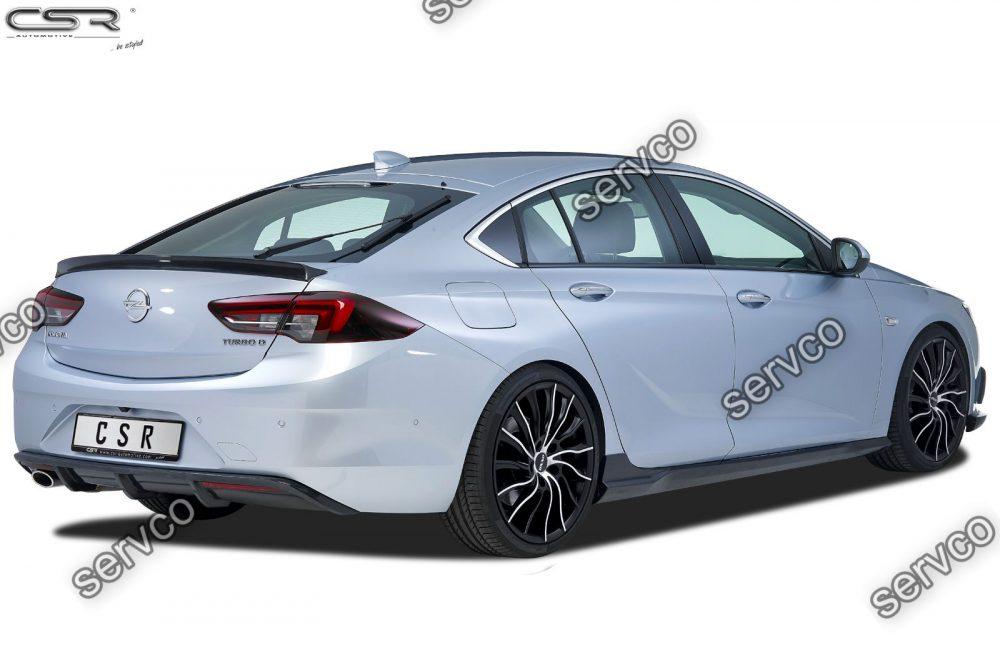 Prelungire difuzor tuning sport bara spate Opel Insignia B Grand Sport CSR HA214 2017- v2