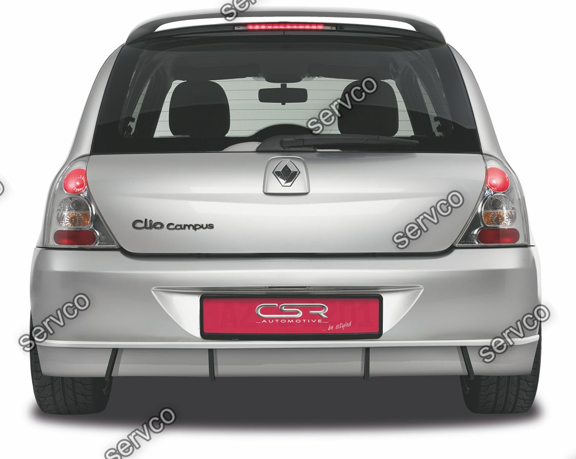 Prelungire difuzor tuning sport bara spate Renault Clio 2/B CSR HA129 2006-2012 v1