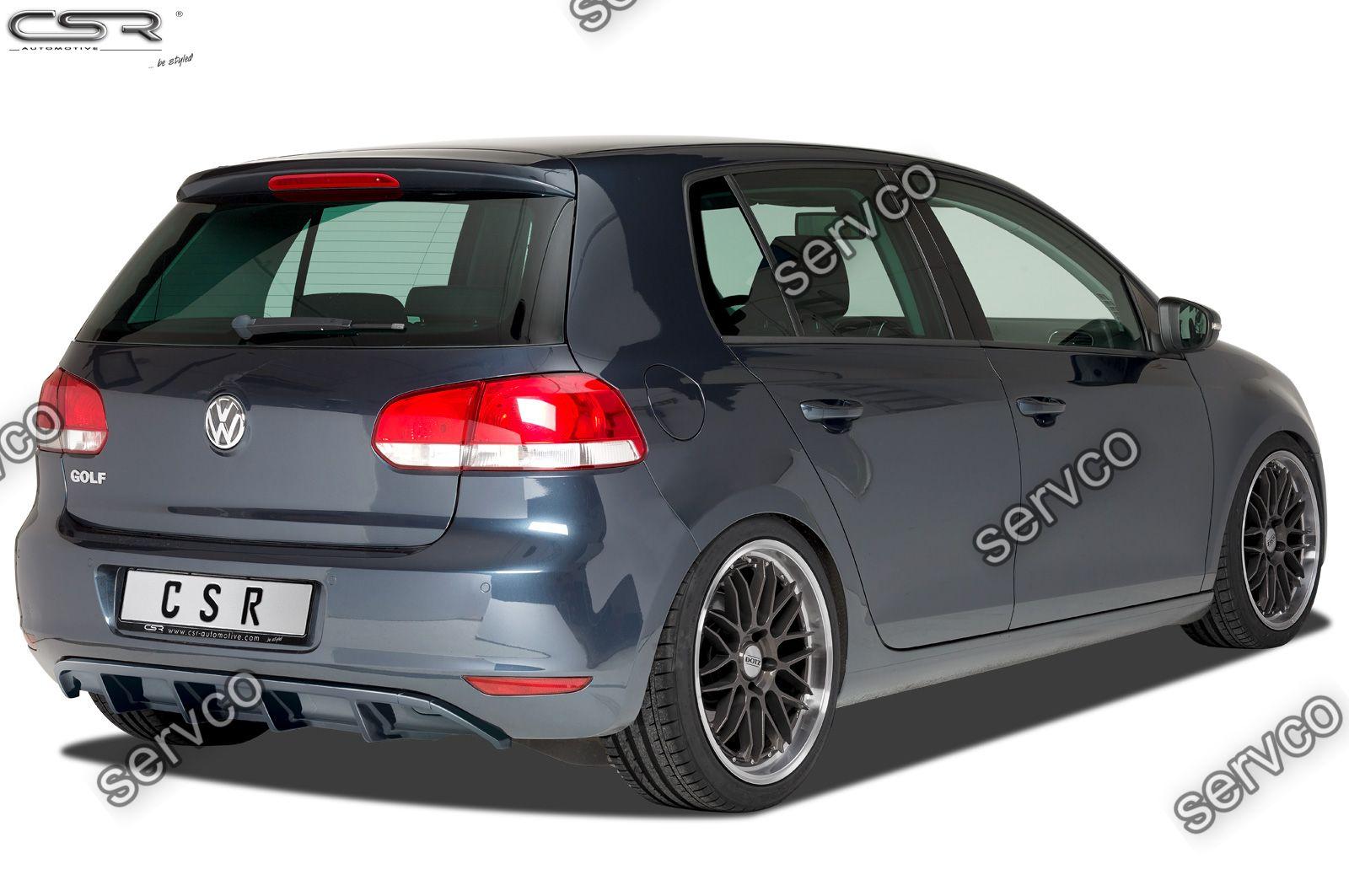 Prelungire difuzor tuning sport bara spate Volkswagen Golf 6 CSR HA220 2008-2012 v8