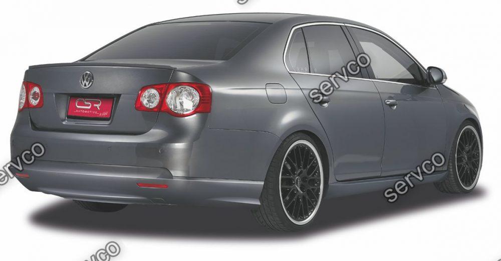 Prelungire difuzor tuning sport bara spate Volkswagen Jetta 5 CSR HA126 2005-2010 v1