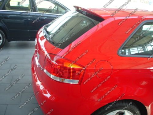 Eleron spoiler tuning Audi A3 8P S3 Coupe Sline RS3 2005-2012 ver1